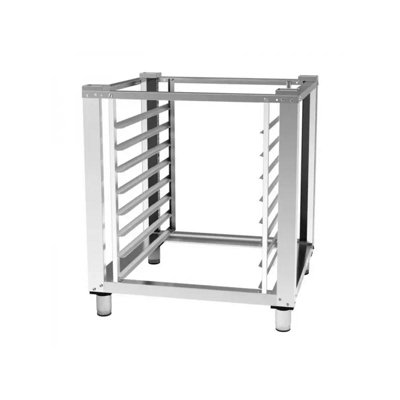 Plancha a Gas Profesional en Acero Laminado de 6 mm de 1010x457x240 mm