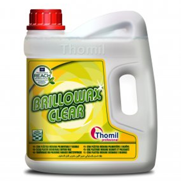 Brillowax Clear Cera Plástica Incolora Pulimentable y Diluible