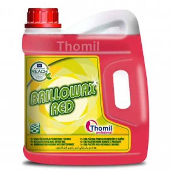 Brillowax Red Cera Plástica Roja Pulimentable y Diluible