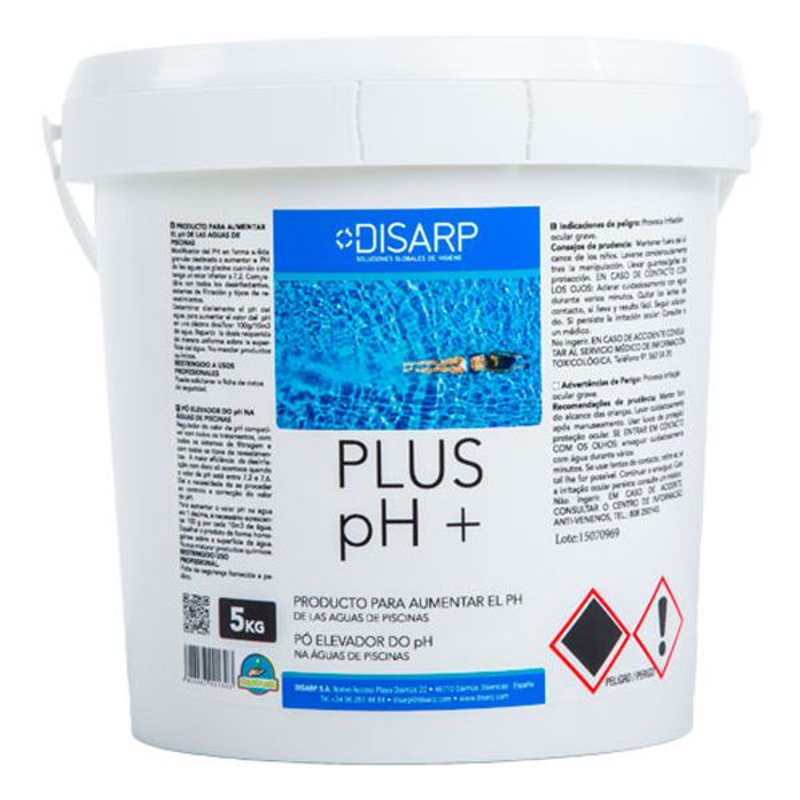 Plus PH Modificador del Ph en forma de Polvo para Piscinas