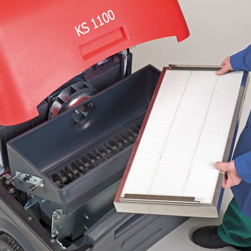 Barredora Compacta Profesional KS 1100 B