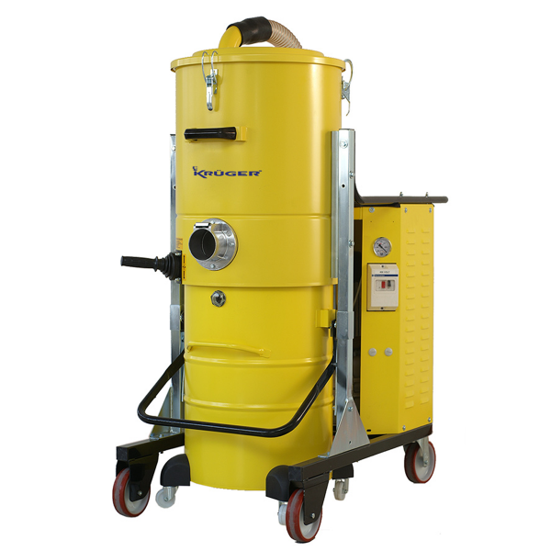 Aspirador Industrial Trifásico 400V 4000W 100L